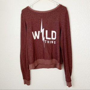 Wildfox Wild Thing Long Sleeve Medium